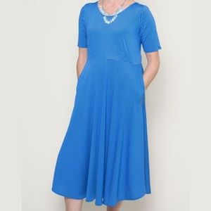 Karina Dresses Maria S/M Bahama Dots